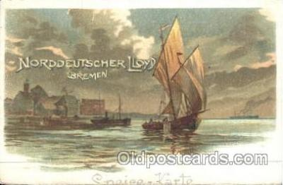 shi035041 - Sneise-Karte Norddeutscher Lloyd Ship Ships Postcard Postcards