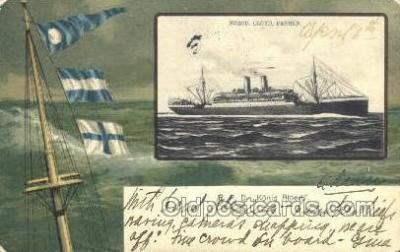 shi035518 - R.P.D. Konig Albert Norddeutscher Lloyd, Breman, Ship Postcard Postcards