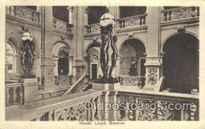 shi035551 - Norddeutscher Lloyd, Breman, Ship Postcard Postcards
