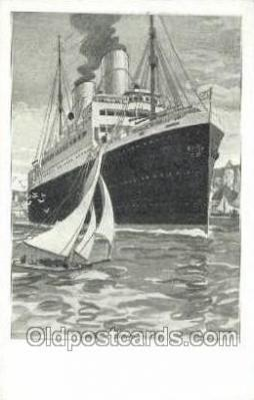shi035583 - Artist Bernd Steiner Norddeutscher Lloyd, Breman, Ship Postcard Postcards