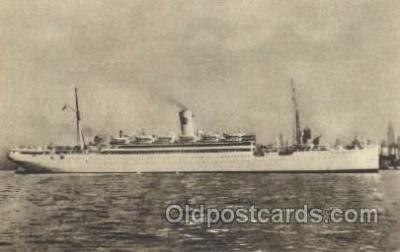 shi038002 - S.S. Drottningholm Svenska Amerika Linien, Line, Lines, Ship Ships Postcard Postcards