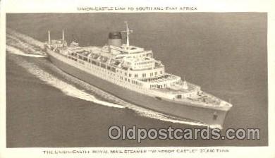 shi039017 - Windsor Castle Union Castle Royal Mail Steamers, Ship Ships Postcard Postcards