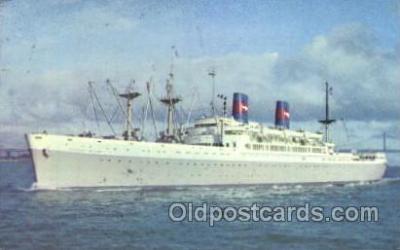 shi040008 - S.S. President Cleveland American President Lines, Line, Ship Ships Postcard Postcards