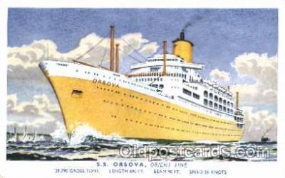 shi041001 - S.S. Orsova Orient Line Ship Postcard