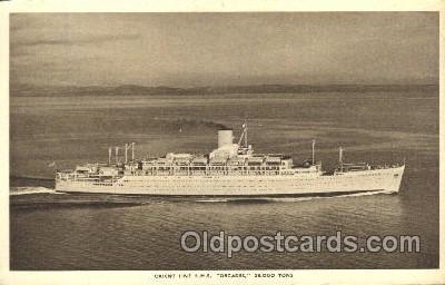 shi041007 - R.M.S. Orcades Orient Line Ship Postcard