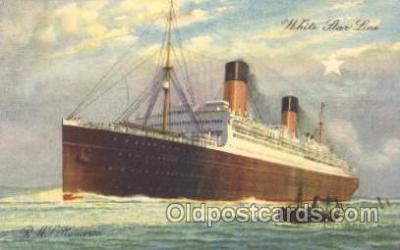 shi042012 - R.M.S. Homeric White Star Line, Lines, Liner, Ship Ships Postcard Postcards