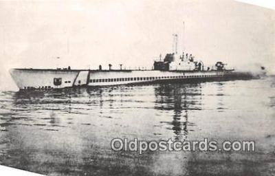 shi043010 - Reproduction - Submarine - USS Seahorse SS 304 Commissioned March 31, 1943 Ship Postcard Post Card