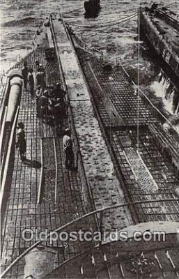 shi043014 - Reproduction - Japanese Aircraft Submarine  Ship Postcard Post Card