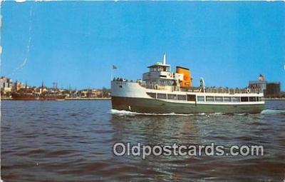 shi045005 - Excursion Boat Marietta San Diego, California Ship Postcard Post Card