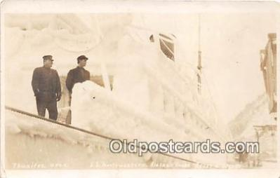 shi045009 - Real Photo - SS Northwestern Alaskan Coast  Ship Postcard Post Card