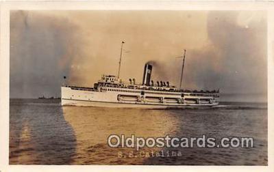 shi045041 - SS Catalina  Ship Postcard Post Card