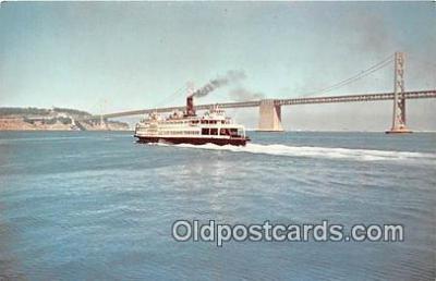 shi045109 - Eureka San Francisco Maritime State Historic Park Ship Postcard Post Card