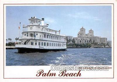 shi045153 - The Empress of Palm Palm Beach, Florida USA Ship Postcard Post Card