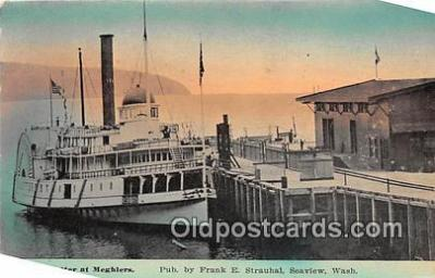 shi045180 - Steamer Potter Meghlers Ship Postcard Post Card