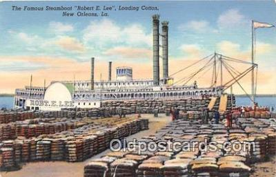 shi045200 - Steamboat Robert E Lee New Orleans, LA USA Ship Postcard Post Card