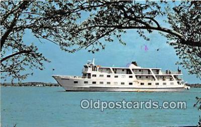 shi045203 - Brand New Coastal Cruise Ship Independence Hadam, Conn USA Ship Postcard Post Card