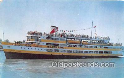 shi045229 - SS Mount Vernon Wilson Linnes, New Pier Four Ship Postcard Post Card