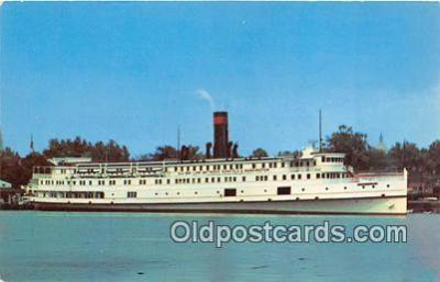 shi045232 - Baltimore Steam Packet Co Old Bay Line, District of Columbia Ship Postcard Post Card