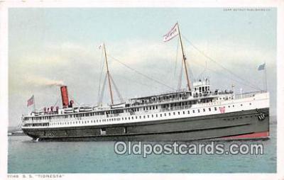 shi045262 - SS Tionesta  Ship Postcard Post Card