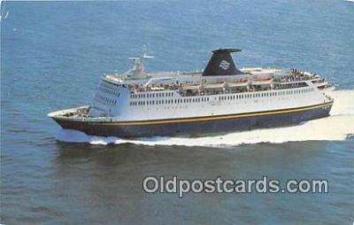 shi045273 - MV Bluenose Bar Harbor, ME USA Ship Postcard Post Card