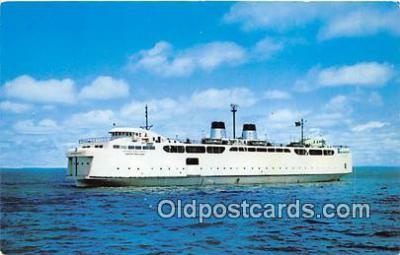 shi045277 - Vacationland Mackinaw City, Michigan USA Ship Postcard Post Card