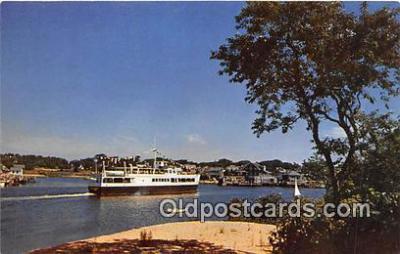 shi045305 - SS Siasconset Hyannis Harbor Ship Postcard Post Card