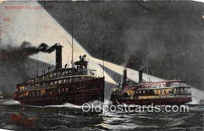 shi045309 - Lake Erie  Ship Postcard Post Card