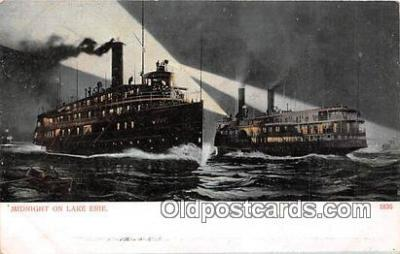 shi045313 - Lake Erie  Ship Postcard Post Card