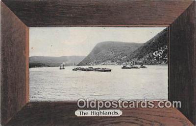 shi045320 - The Highlands Ship Postcard Post Card