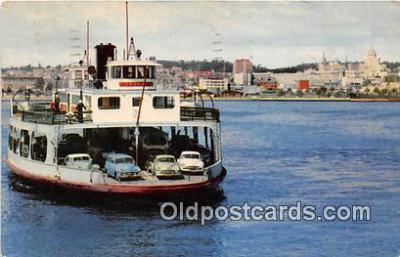 shi045345 - San Diego & Coronado Ferry San Diego, California USA Ship Postcard Post Card