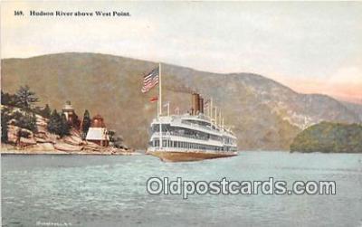 shi045364 - Hudson River West Point USA Ship Postcard Post Card