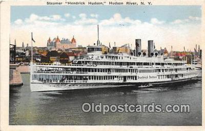 shi045371 - Steamer Hendrick Hudson Hudson River, NY USA Ship Postcard Post Card