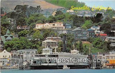 shi045424 - Trade Fair Sausalito, California USA Ship Postcard Post Card