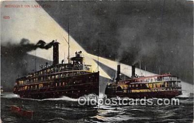 shi045436 - Lake Erie  Ship Postcard Post Card