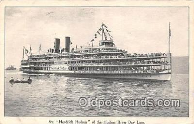 shi045455 - Str Hendrick Hudson Hudson River Day Line Ship Postcard Post Card