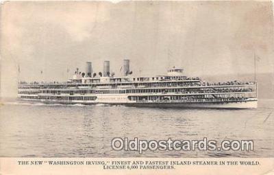 shi045470 - New Washington Irving  Ship Postcard Post Card