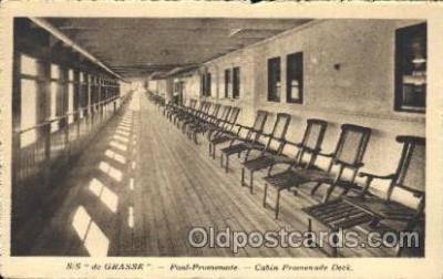 shi050001 - S.S. De Grasse Ship Ships, Interiors, Postcard Postcards