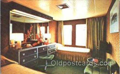 shi050034 - S.S. Emerald Seas Eastern Steam Ship LinesShip Ships, Interiors, Postcard Postcards