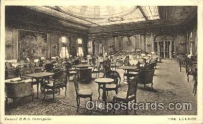 shi050048 - R.M.S. Berengaria, The lounge Ship Ships, Interiors, Postcard Postcards
