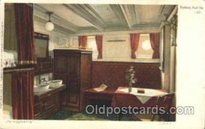 shi050054 - Pennsylvania, Cabine Ship Ships, Interiors, Postcard Postcards