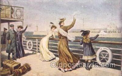 shi050058 - La Savoie Havre,Going abroad Ship Ships, Interiors, Postcard Postcards