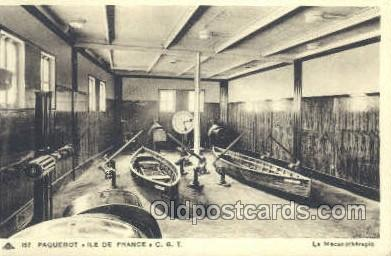 shi050106 - Ile De France French Line, Ship Postcard Postcards