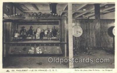 shi050107 - Ile De France French Line, Ship Postcard Postcards
