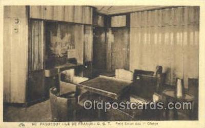 shi050120 - Ile De France French Line, Ship Postcard Postcards