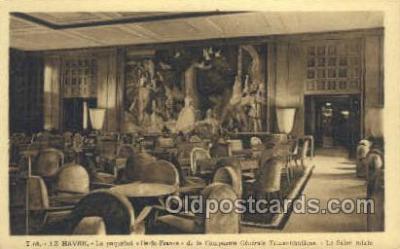 shi050121 - Ile De France French Line, Ship Postcard Postcards