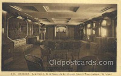 shi050122 - Ile De France French Line, Ship Postcard Postcards