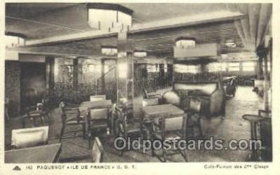 shi050128 - Ile De France French Line, Ship Postcard Postcards