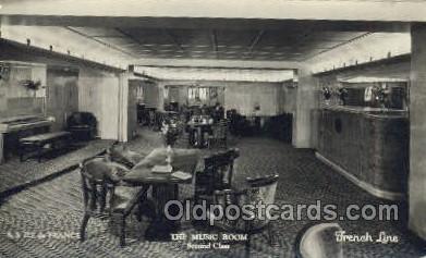 shi050129 - Ile De France French Line, Ship Postcard Postcards