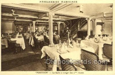 shi050150 - Messageries Maritimes Porthos Ship Postcard Postcards