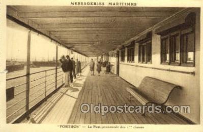 shi050154 - Messageries Maritimes Porthos Ship Postcard Postcards